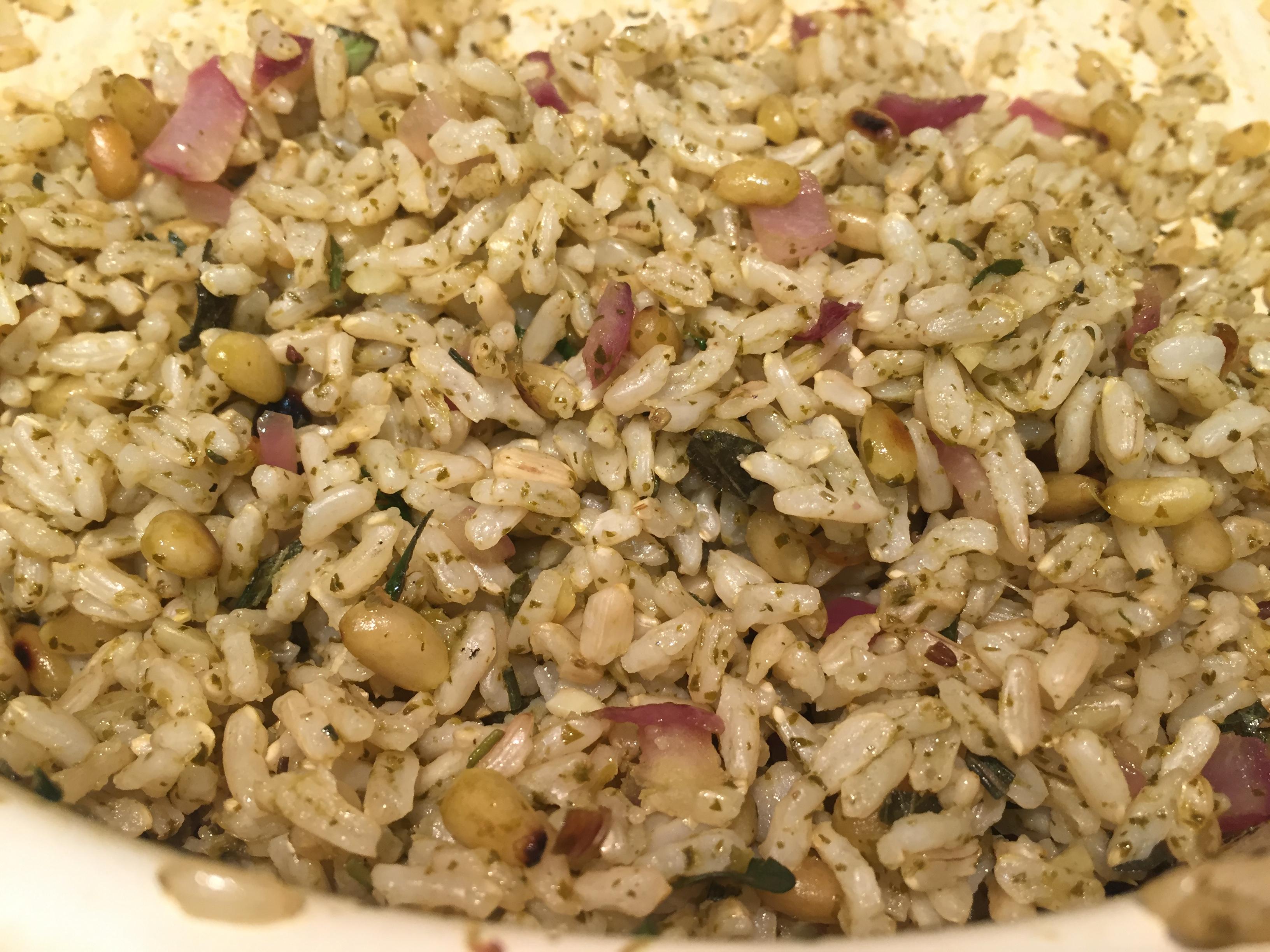 cilantro-rice